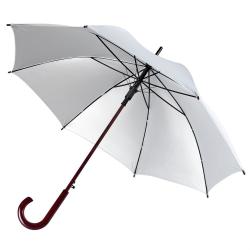 Изображение Зонт палочка Unit Standard, серебристый