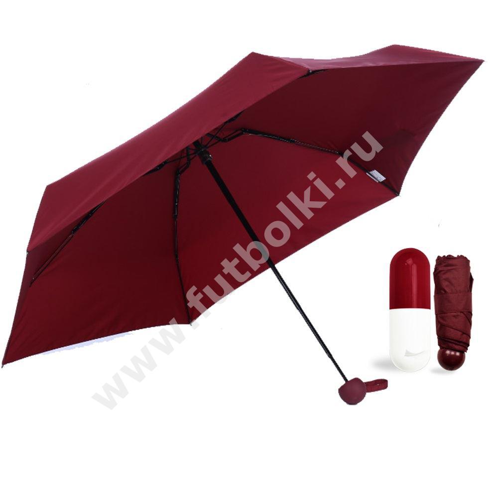 """Зонт """"Капсула"""", красный от 838 руб"""