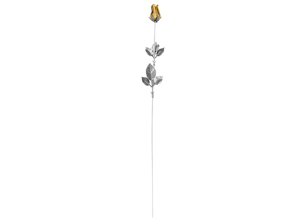 Роза с золотым бутоном от 6 542 руб