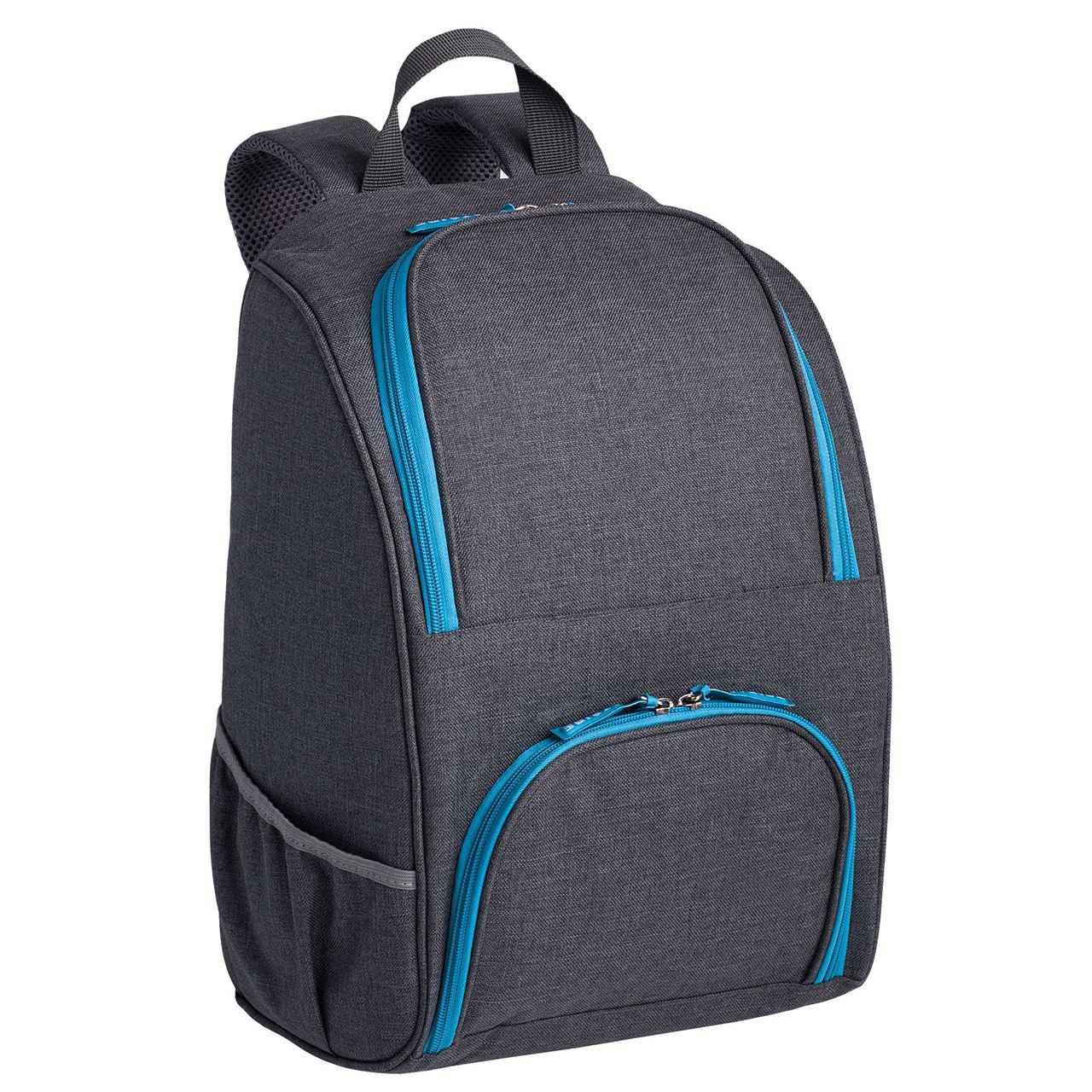 "Изотермический рюкзак ""Liten Fest"", серый с синим от 1 824 руб"
