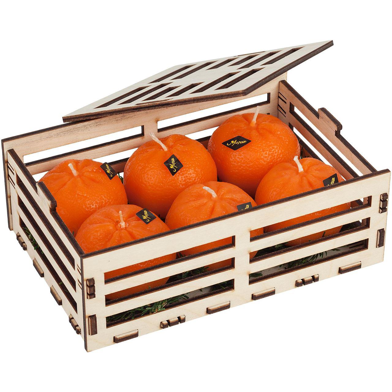 "Набор свечей ""Citrus Box"" - 1"