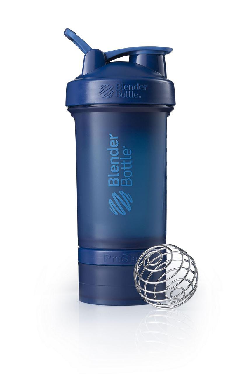 Спортивный шейкер с контейнером ProStak, синий от 1 166 руб