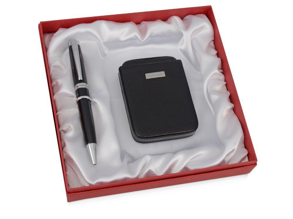Набор: визитница, ручка шариковая черный от 3 935 руб