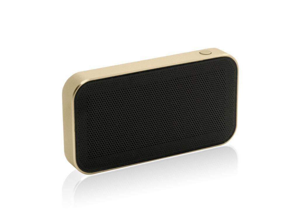 Беспроводная Bluetooth колонка Micro Speaker Limited Edition, светло-золотистая от 2 490 руб