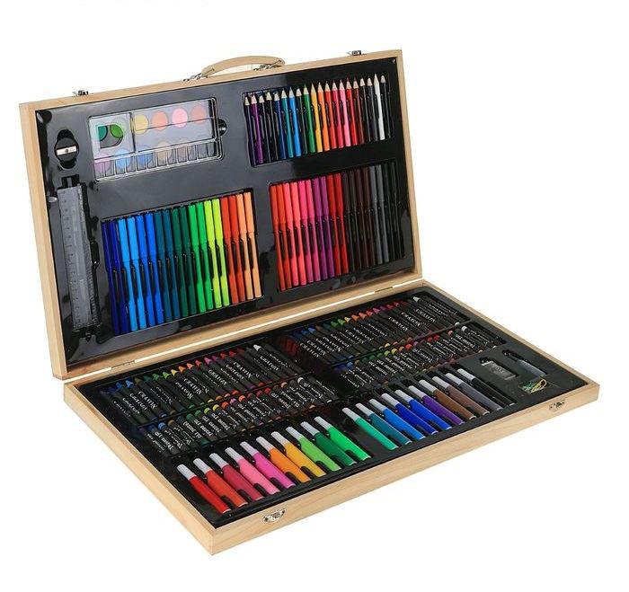 Набор для рисования в деревянном пенале от 3 593 руб