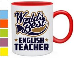 Кружка World best english teacher
